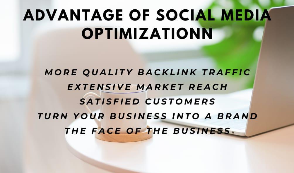 Advantages of Social Media Optimization (SMO)